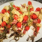 Rosemary Skewered Chicken