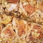 Tuscan Inspired Lemon-Rosemary Chicken with Cannellini Beans & Roasted Squash-Arugula Salad