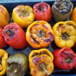 Persian Stuffed Peppers (Dolmeh)