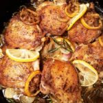 Skillet Chicken Thighs With Shallot, Lemon & Herbs